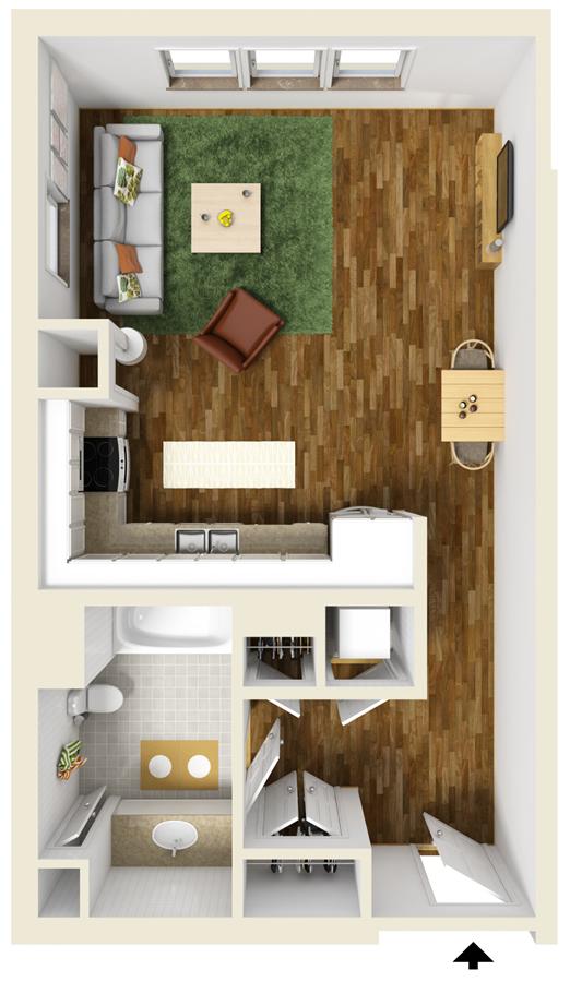 3D Plus Floor Plan